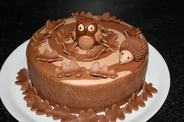 Uil en egel taart