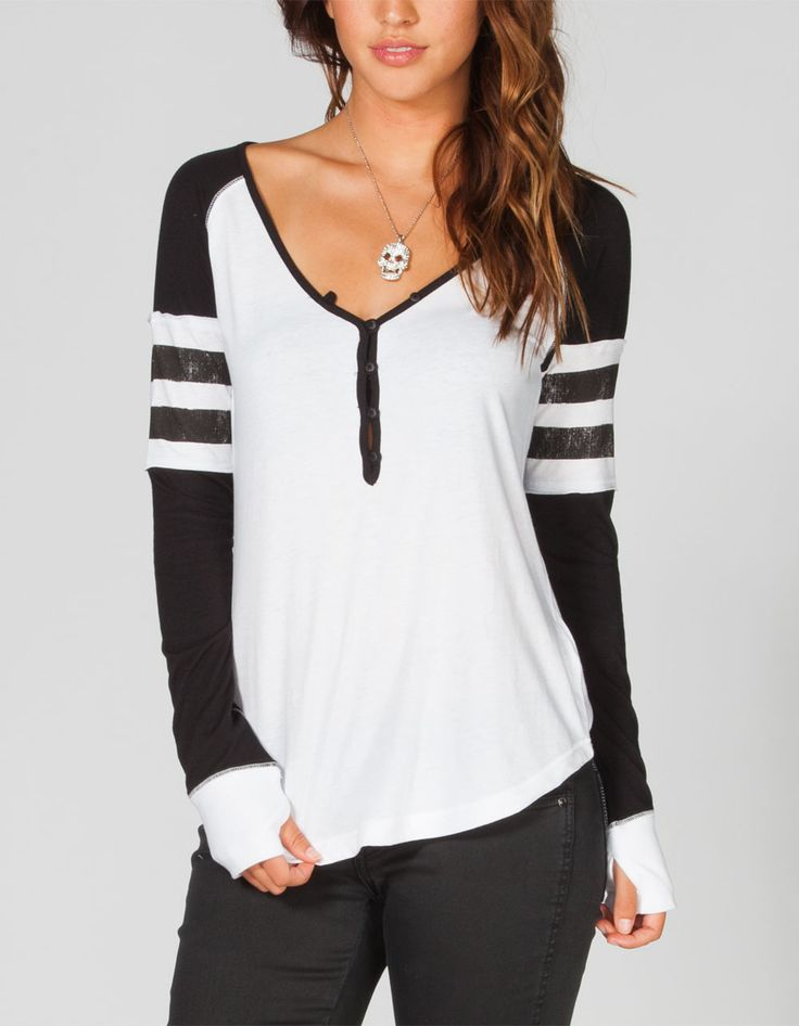 Find great deals on eBay for womens henley shirt. Shop with confidence.