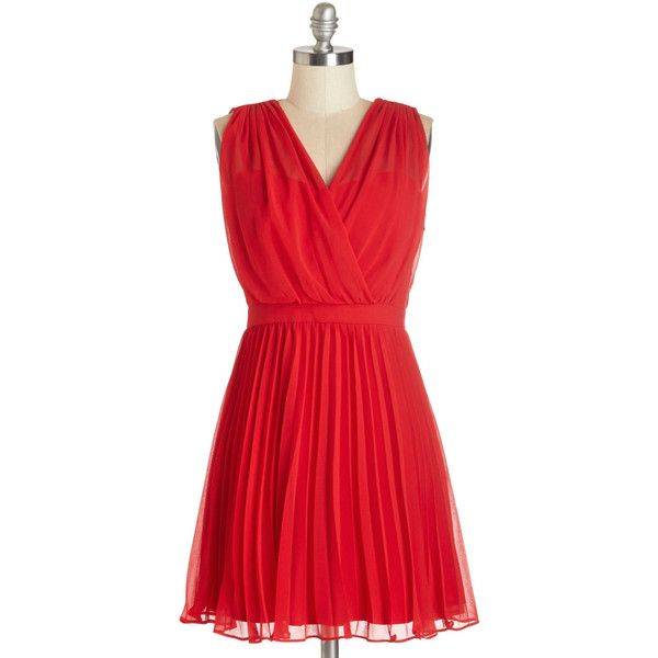 ModCloth Mid-length Sleeveless A-line Sashay into Sunset Dress (€23) found on Polyvore (AUGUST 2014 !!!)