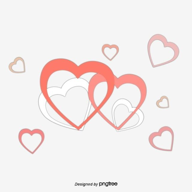 Red Double Heart Decoration Heart Vector Decoration Vector Double Heart Png And Vector With Transparent Background For Free Download Heart Decorations Heart Hands Drawing Red Christmas Decor
