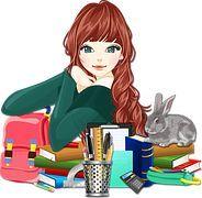 Books, Education, Female, Girl: