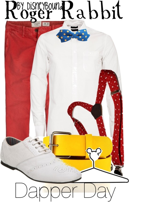 """Roger Rabbit"" by lalakay ❤ liked on Polyvore"