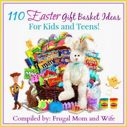 71 best gift basket ideas images on pinterest gift basket ideas frugal mom and wife 110 easter gift basket ideas for kids and teens negle Images