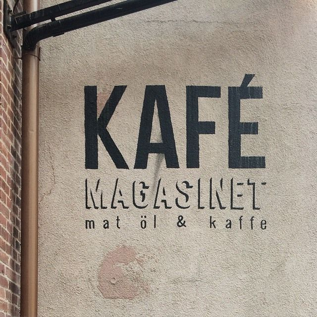 Kafé Magasinet, #Gothenburg, Sweden.