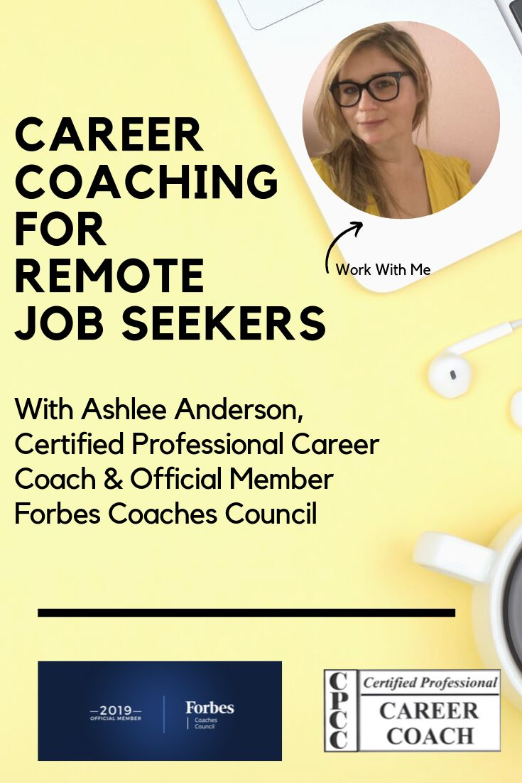 Career Coach Remote Jobs