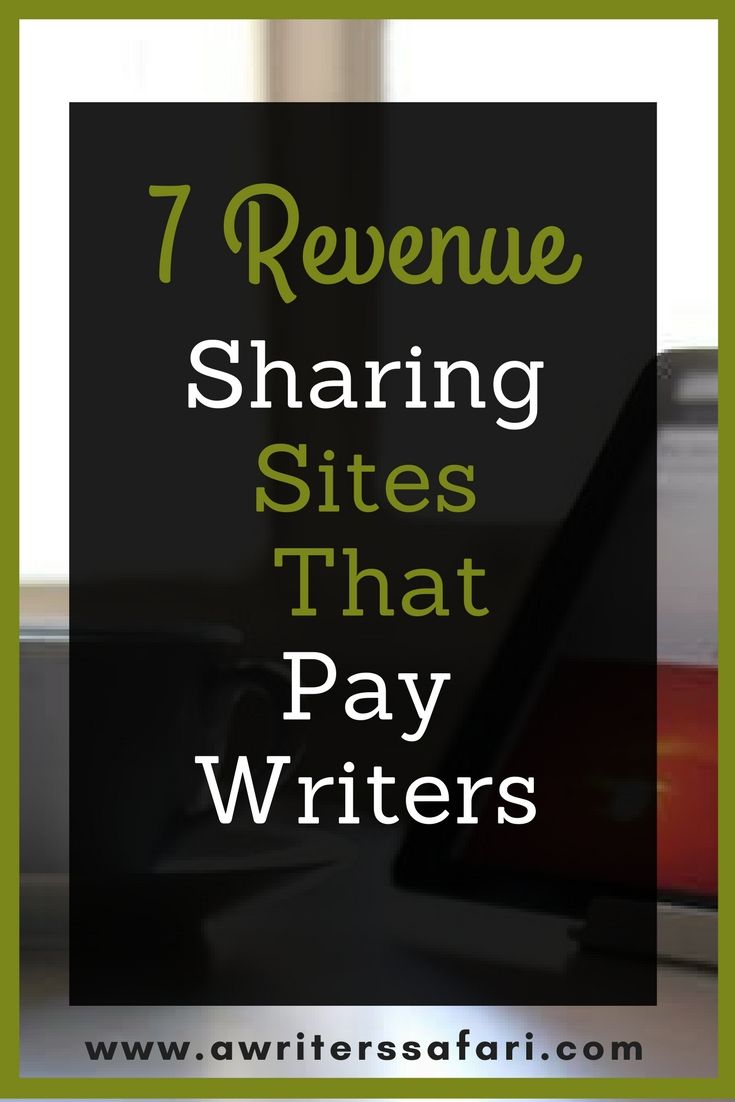 Here is a list of the best revenue sharing sites that pay for writers. Write and get paid for your article at these 7 popular revenue sharing sites