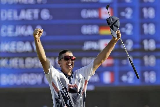 Justin Rose (Great Britain) wins golf's Olympic return