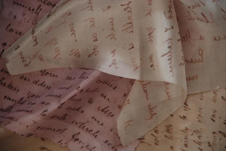 silk letters from john keats to fanny brawne