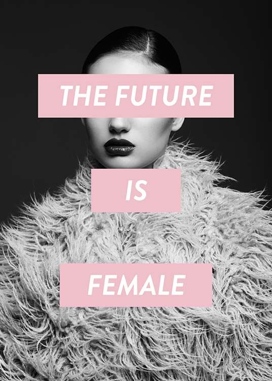 Future is female Plakat i gruppen Plakater hos Desenio AB (8834)