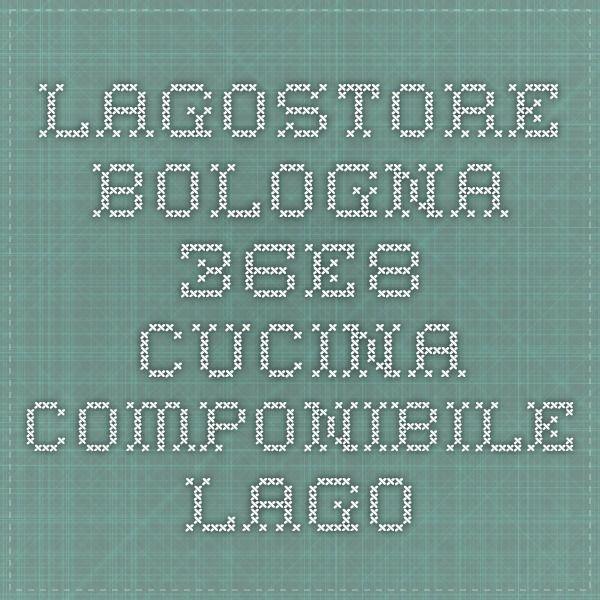Lagostore - bologna - 36e8 cucina componibile - Lago | Corso ...