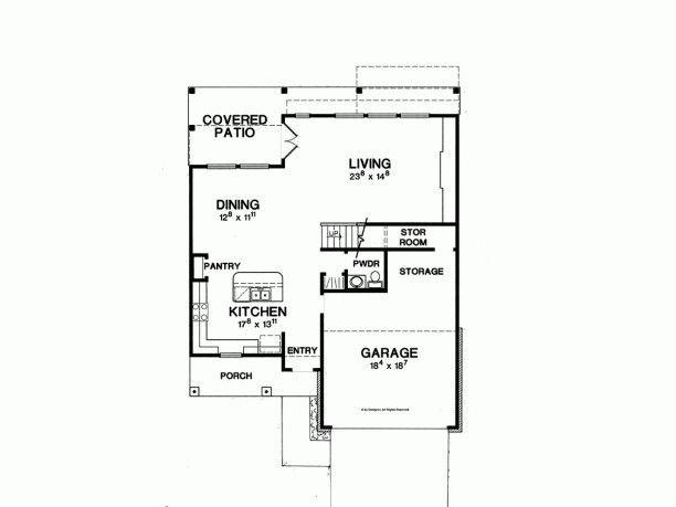 Pin by Gokce Tercioğlu on Architectural Pinterest Hampshire and - plan de maison rectangulaire plain pied