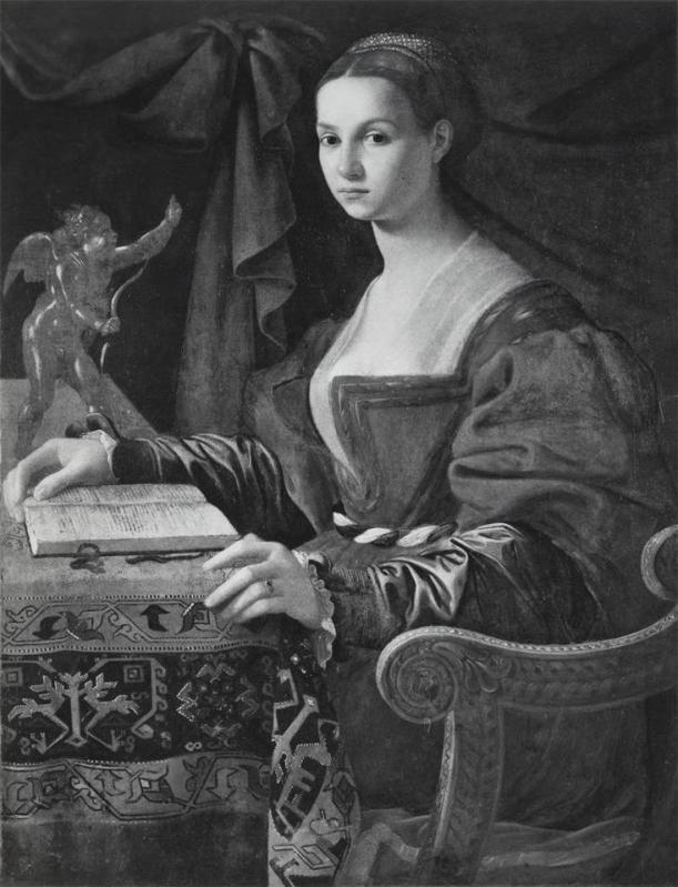 Jacopino del Conte - Donna con libro, circa 1530.