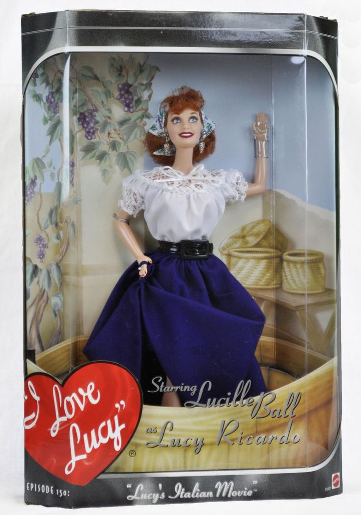 Lucy's Italian Movie Mattel Doll   LucyStore.com, $49.95