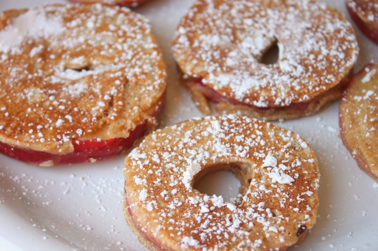 Healthier apple fritters. SO yummy!Apples Fritters, Low Sugar, Fun Recipe, Apple Fritters, Deep Fries, Baking Apples, Delight Momma, Diabetes Recipe, Diabetes Friends