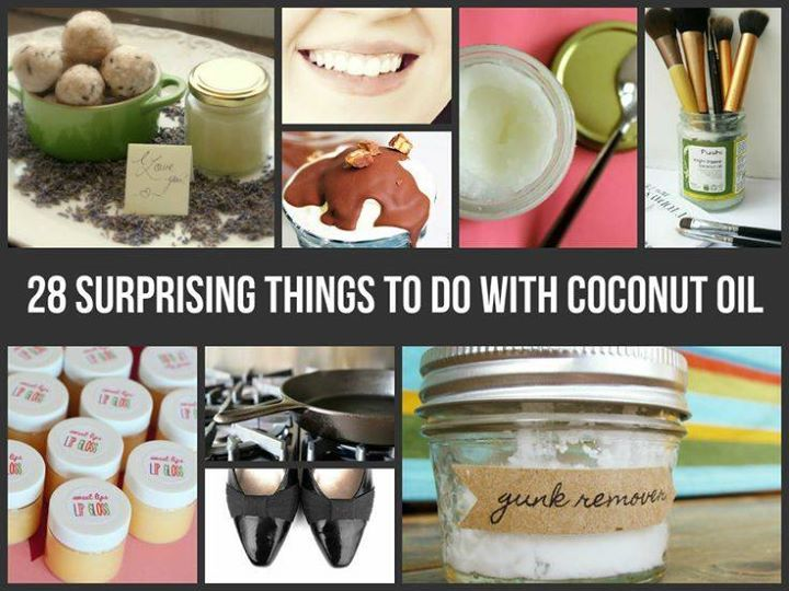 28 Surprising Things To Do With Coconut Oil !   ✔ Be my friend✔ or Follow me  Facebook: http://www.facebook.com/tennie.keirn