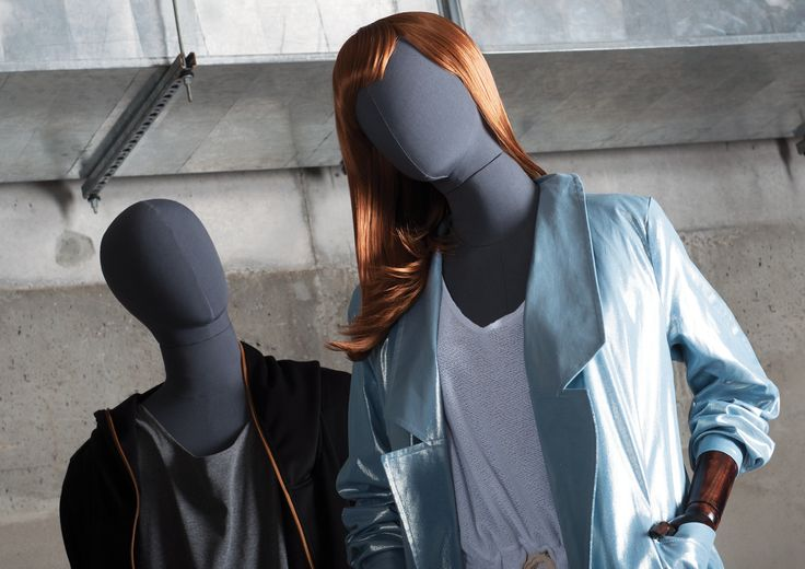 OLD MODERN Collection by More Mannequins #FemaleMannequins #MaleMannequins #dudzinska #fashion #industrial