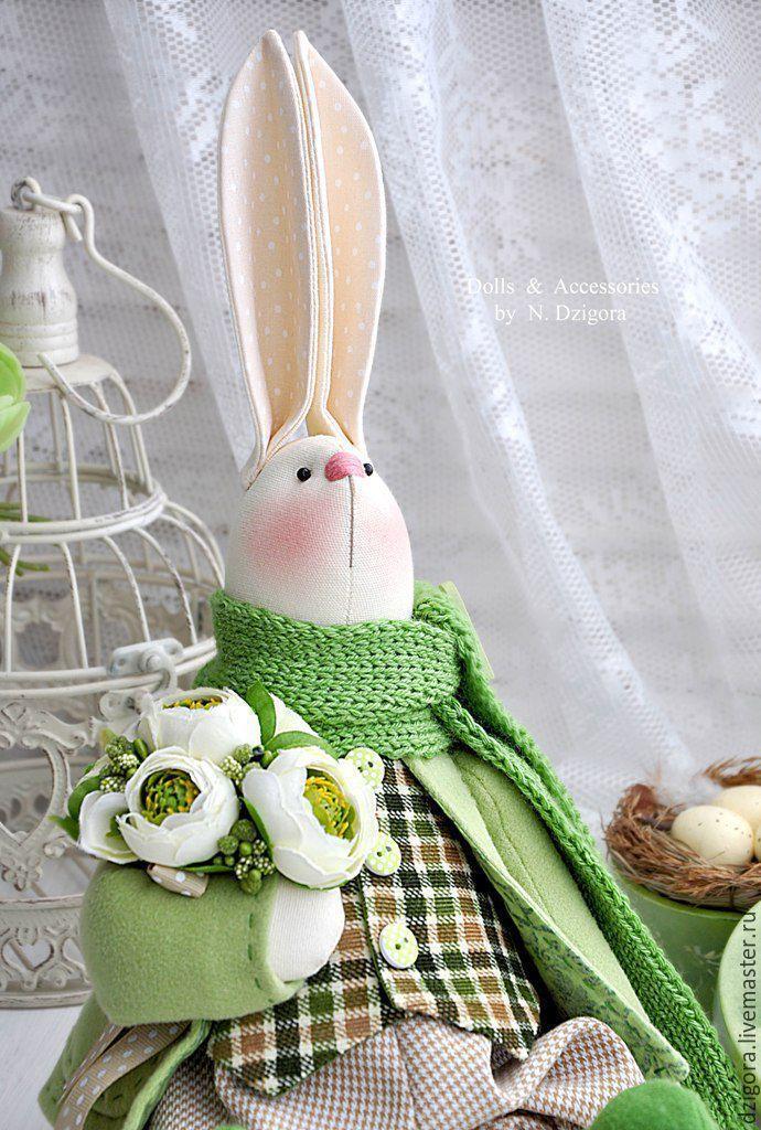 Купить Весенний кролик Martin / Мартин - кролик, кролик ТИЛЬДА, кролик игрушка, заяц