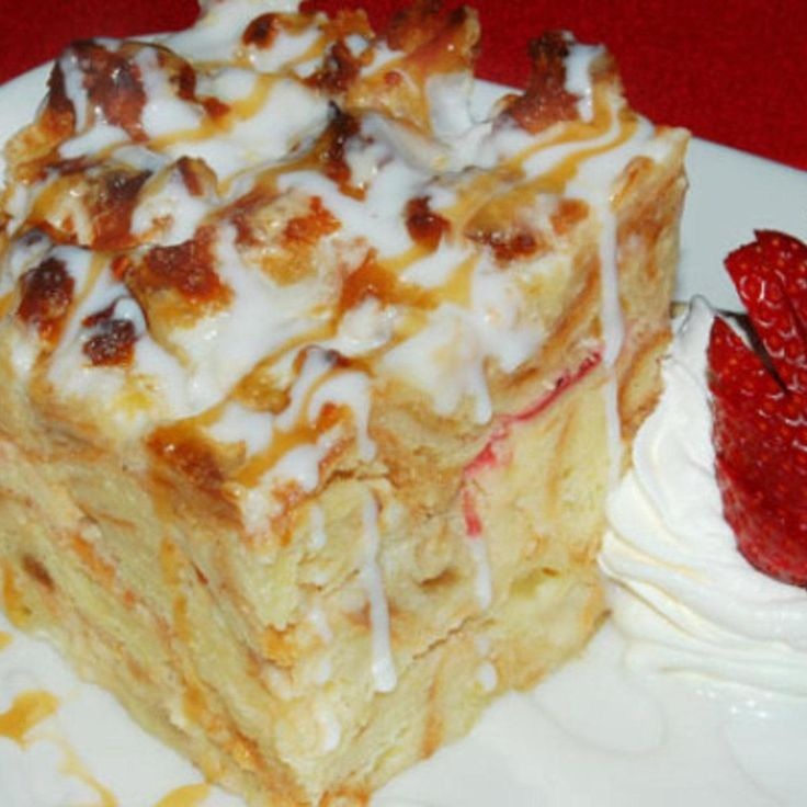... Pinterest   Bread puddings, Breads and White chocolate bread pudding