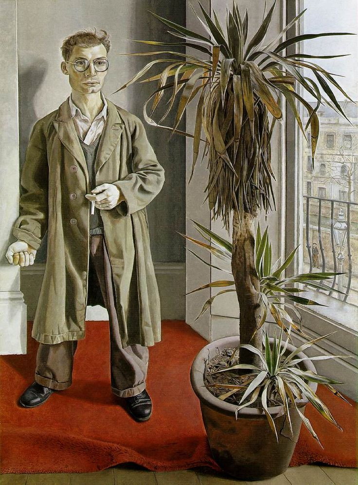 Interior in Paddington, 1951, oil on canvas, -  Walker Art Gallery, Liverpool  Lucien Freud