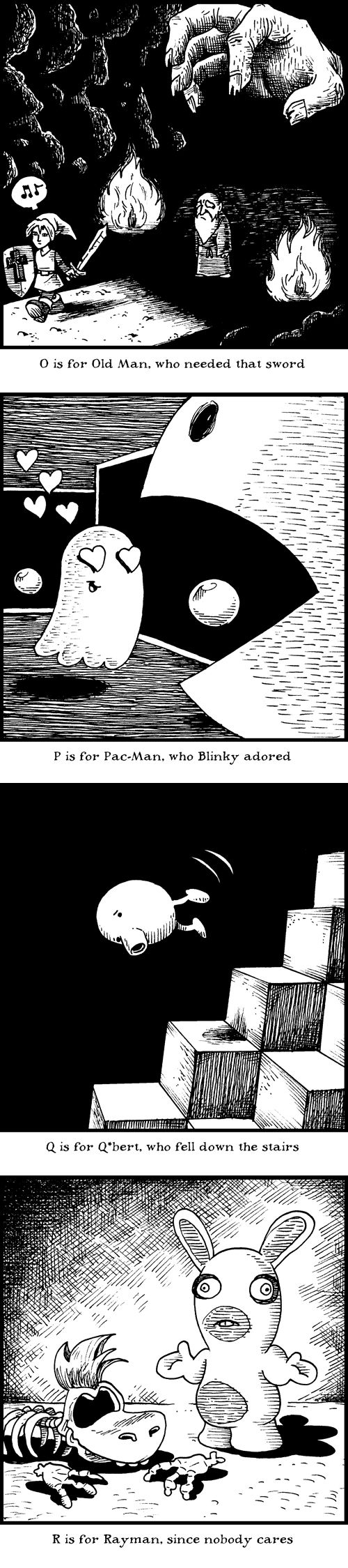 Even more 'Game Overs' in storybook rhyme photo gallery-Edward Gorey Influenced