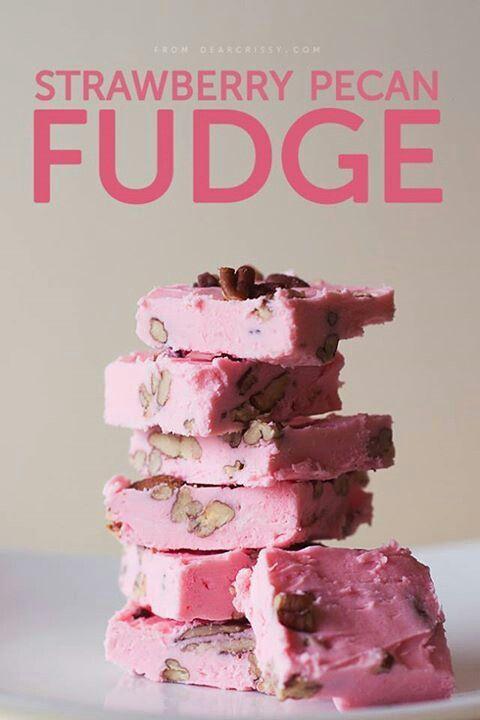 Strawberry fudge
