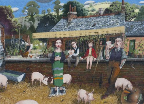 Richard Adams. The old station 2014