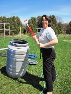 Check out The Do's and Don'ts of Building Your First Rain Barrel at http://survivallife.com/how-to-build-maintain-and-care-for-your-first-rain-barrel/