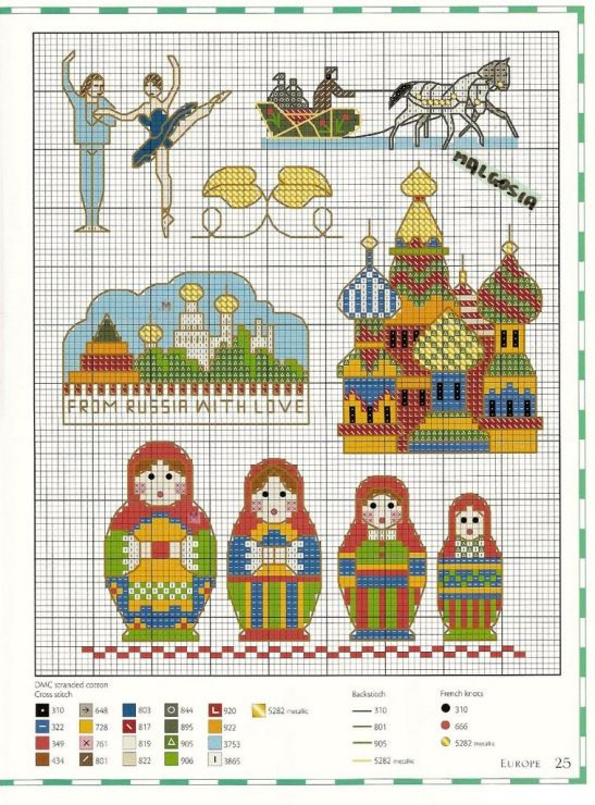 Gallery.ru / Фото #97 - Каталог матрешек - Mosca Plus