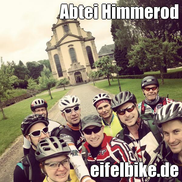 Zisterzienser MTB Tour mit Eifelbike in der Abtei Himmerod/Vulkaneifel. #eifel #vulkaneifel #eifelbike #mtb #mountainbiking #himmerod #mtbtrails