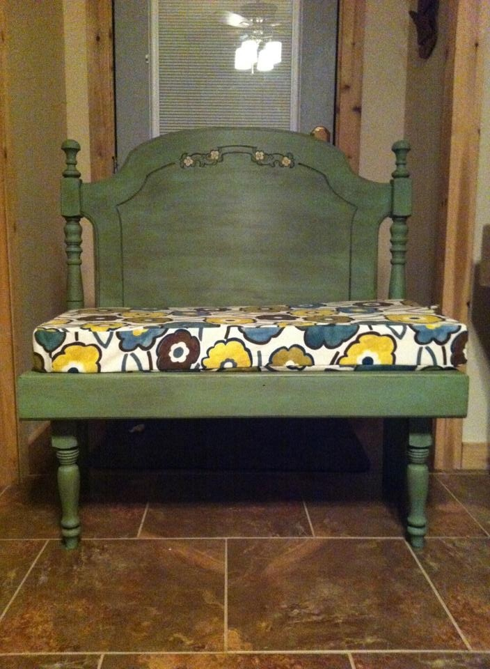 30 best Old Bed New Bench/ Swing images on Pinterest | Refurbished ...
