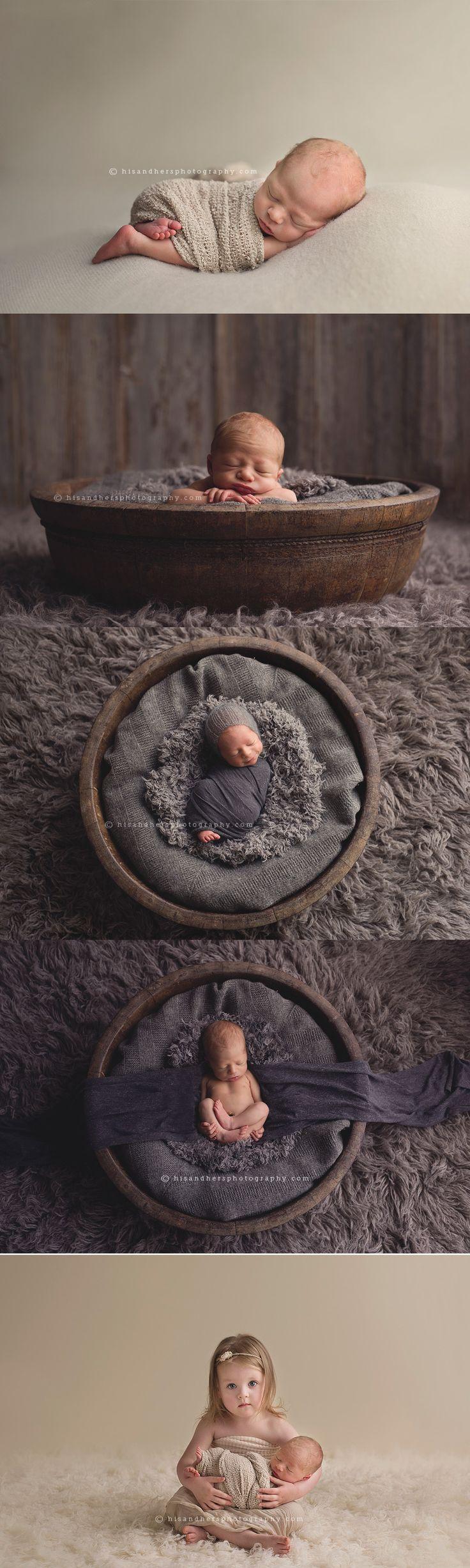 Des Moines, Iowa newborn photographer, Darcy Milder | His & Hers