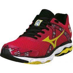 Mizuno Wave inspire 10 női futócipő piros. pronáló futóstílusúaknak ajánlott  a U4ic középtalpának és a levegős gumi első talpának köszönhetően sokkal kényelmesebb mozgást biztosít. OLVASS TOVÁBB!