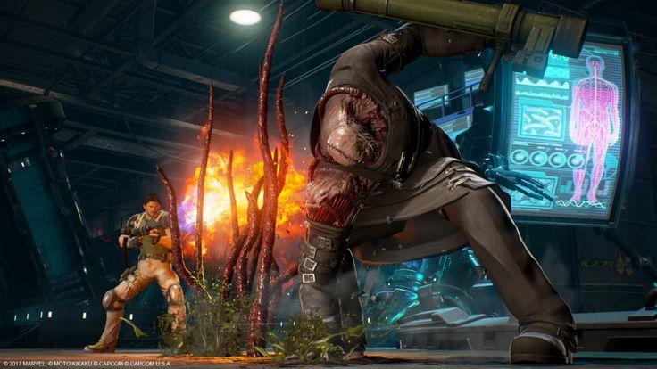 A pancadaria de Marvel Vs. Capcom Infinite confirmou mais um punhado de personagens, saídos diretamente de Final Fight, Resident Evil, Dead Rising e muito mais!