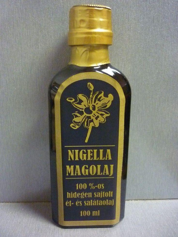 Nigella olaj 100ml, Rendkívül széles körben alkalmazható Nigella mag olaja.
