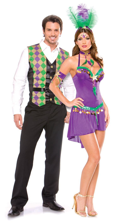 Mardi Gras Queen Adult Costumes