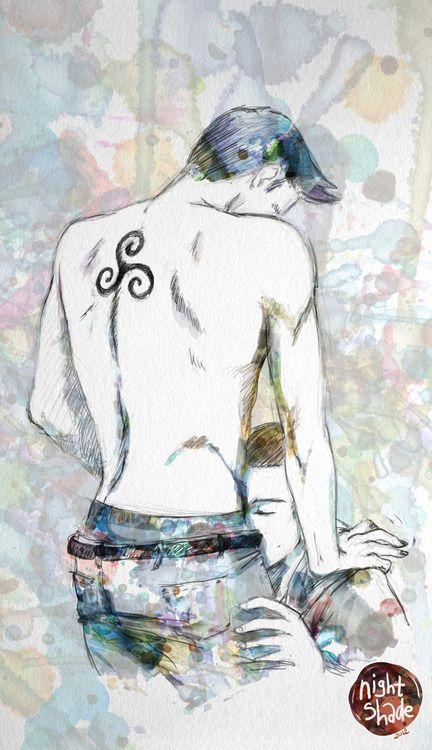 Sterek Fan Art for Pinterest