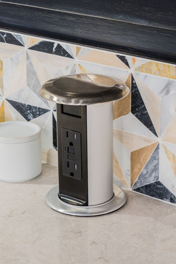 Dd Convenient Pop Up Outlets To Your Kitchen Counter Top For Small Appliances And Charging Mobile Devices Thes Pop Up Outlets Kitchen Addition Kitchen Outlets