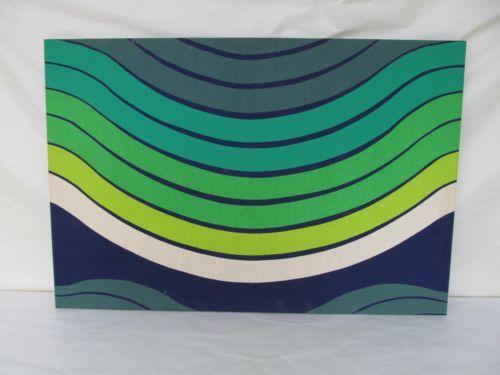 Vintage Tampella Mid Century Modern Tapestry Fabric Retro by Marjatta Metsovaara | eBay