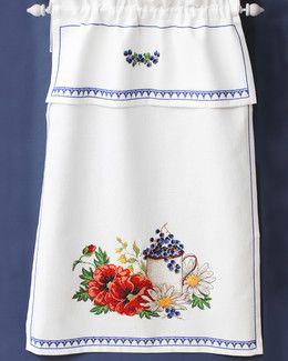 Svarta Fåret, Paradhandduk Blomster och bär, 332965