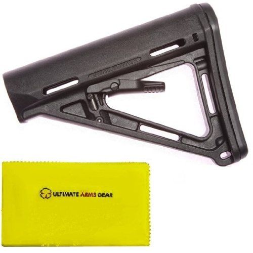 Magpul Industries MAG 400 MOE Military - Spec BLK Stealth Black Buttstockk + Ultimate Arms Gear Care and Reel Silicone Lubricated Cleaning Cloth  //Price: $ & FREE Shipping //     #sports #sport #active #fit #football #soccer #basketball #ball #gametime   #fun #game #games #crowd #fans #play #playing #player #field #green #grass #score   #goal #action #kick #throw #pass #win #winning