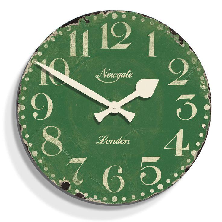 Discover the Newgate Clocks Market Hall Clock - Bowling Green - 50cm dia at Amara