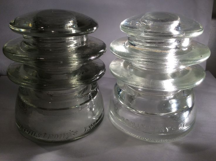 383 best insulators images on pinterest glass insulators for Glass conductors