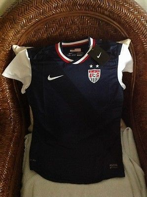 USA Nike World Cup Soccer  Jersey blue   size S  womens