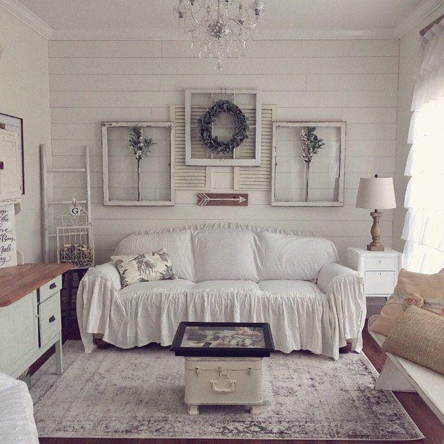 Slipcover Ruffled Slipcover Sofa Cover Sofa Scarf Slip Etsy Shabby Chic Sofa Chic Sofa Shabby Chic Bedrooms