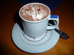 cup of cocoa with cream marshmallows - Google Search