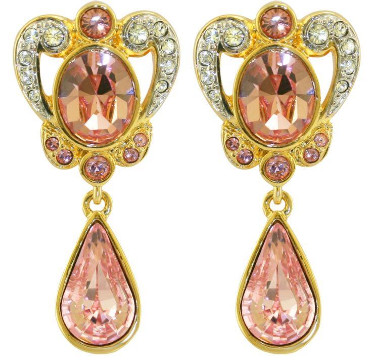 Princess Margaret Pictures >> princess margaret jewelry | Princess Margaret Rose Ornate Earrings | Crown Jewels | Pinterest ...