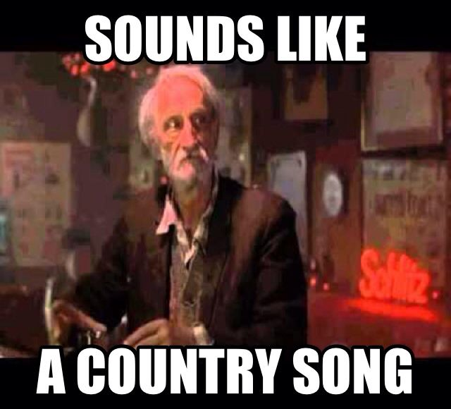Sounds Like A Country Song Old Man From The Wedding Singer