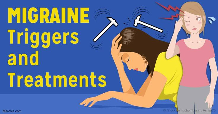 Migraines affect as many as 1 billion people worldwide, yet researchers still struggle to understand exactly how and why migraines occur. http://articles.mercola.com/sites/articles/archive/2017/03/30/migraine-triggers-treatments.aspx
