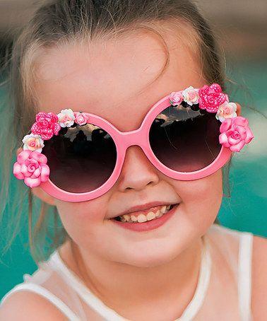 Look at this #zulilyfind! Pink Tallulah Sunglasses #zulilyfinds