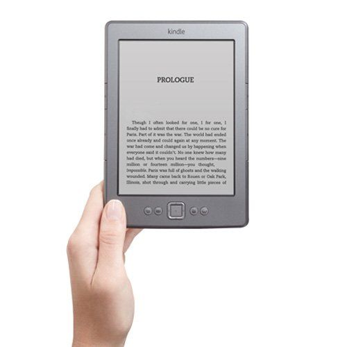 Kindle, Wi-Fi, 6″ E Ink Display